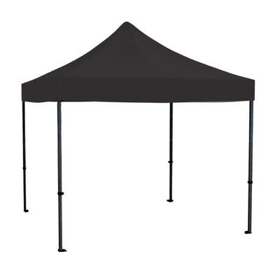 10x10 popup canopy with tent section featuring commercial grade aluminum color choices white and black rental comes with roller bag for easy moving  sc 1 th 225 & 10x10 Pop Up Canopy. Impact Canopy 10 X 10 Ft Pop Up Canopy Tent ...